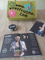 RINGANA push, vegane Sporternährung für mehr Energie ohne Chemie bei www.allesfrische.com